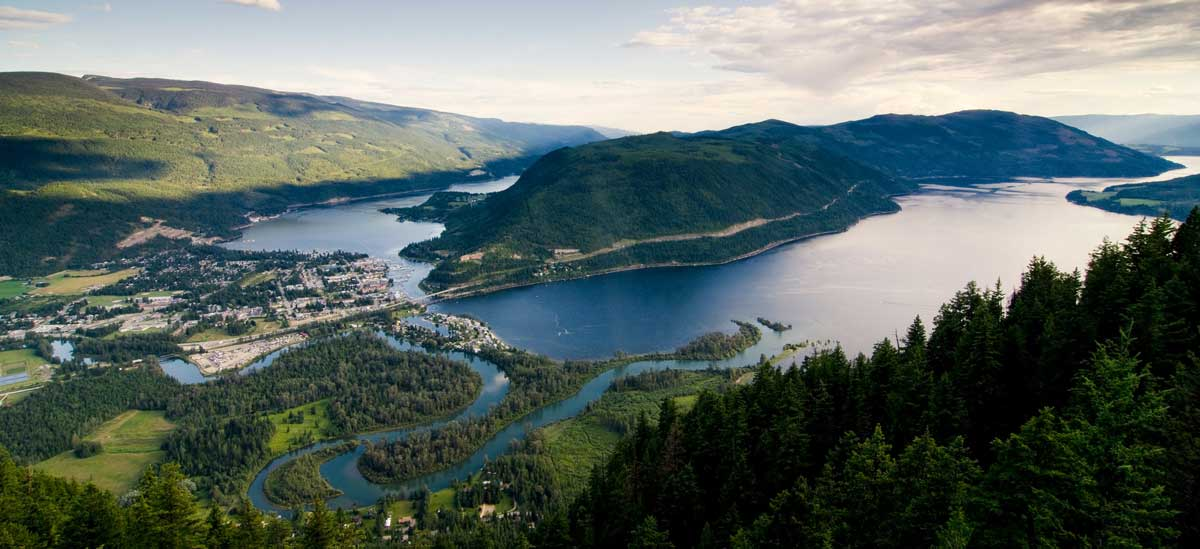 Shuswap Lake and Sicamous