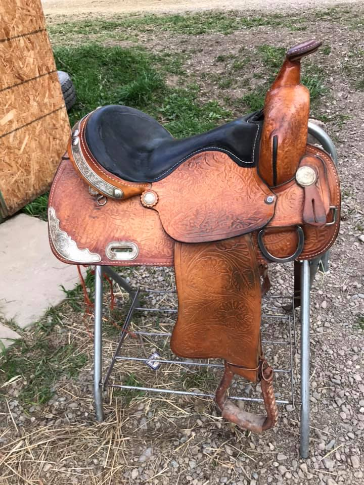 Show saddle for sale.