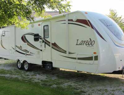 Laredo 291TG outside view